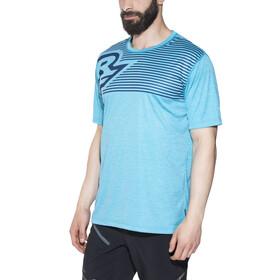 Race Face Trigger Tech Short Sleeve Jersey Men blue